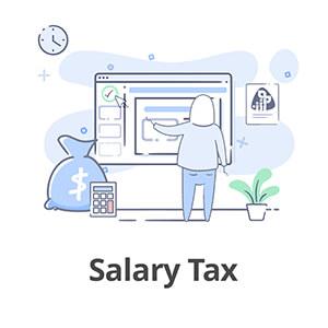 salary tax بسته جامع آموزش لیست حقوق و دستمزد دارایی آکادمی رشد مالی